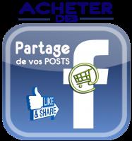 Acheter des partages de posts facebook