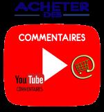 Acheter des commentaires YouTube